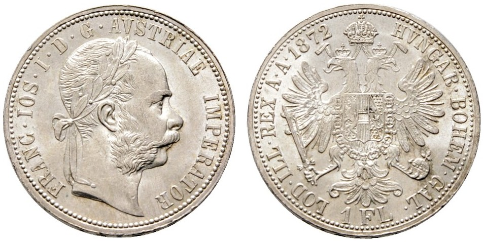 AT 1 Gulden 1872
