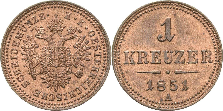 AT 1 Kreuzer 1851 C