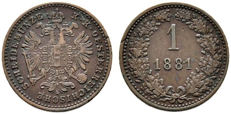 AT 1 Kreuzer 1881