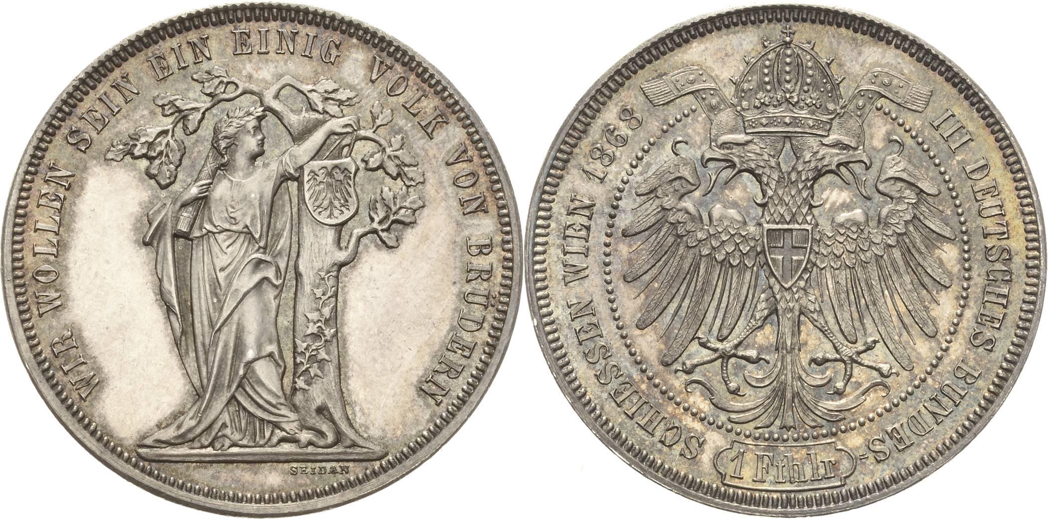 AT 1 Taler 1868