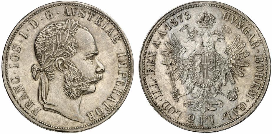 AT 2 Gulden / Doppelgulden 1884
