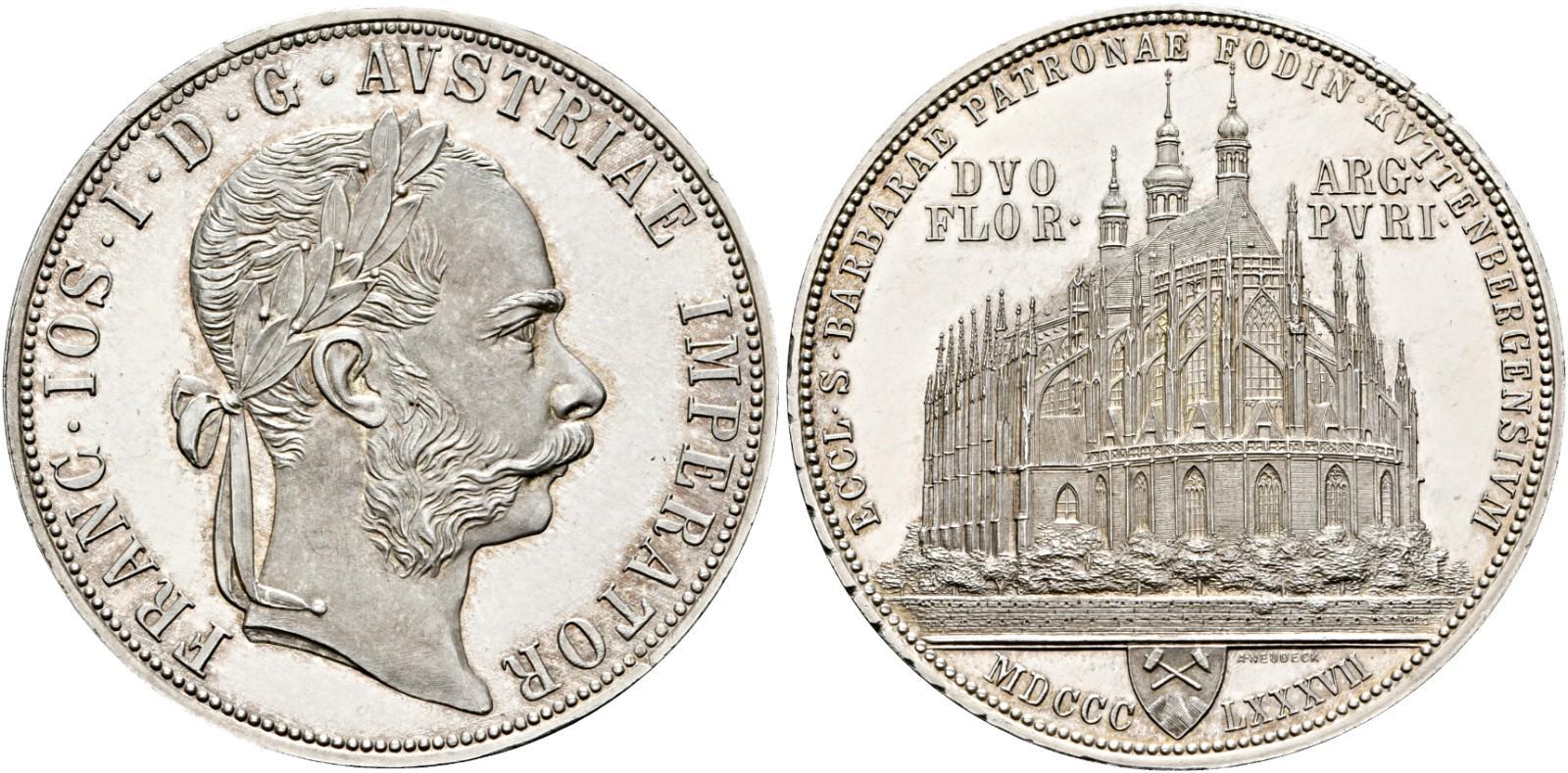 AT 2 Gulden / Doppelgulden 1887