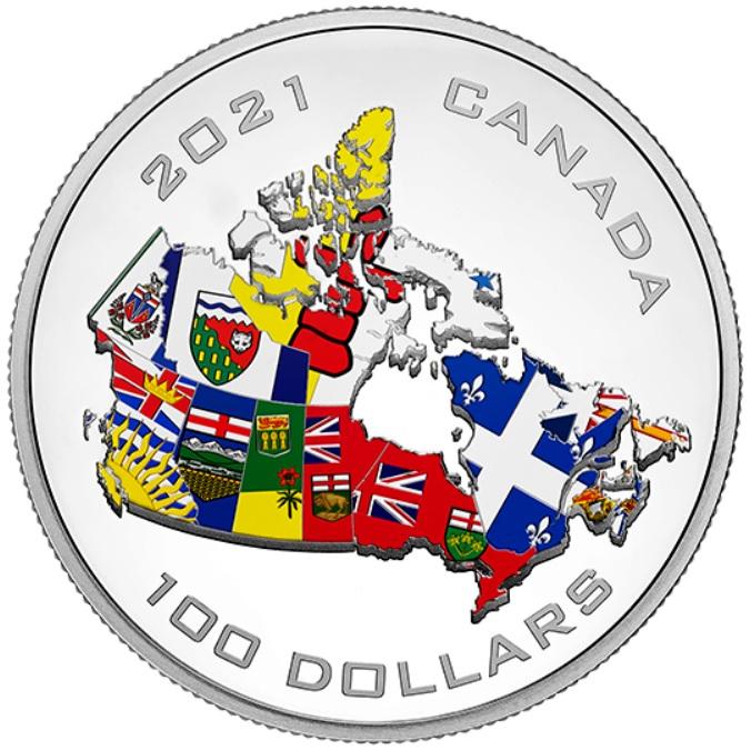 CA 100 Dollars 2021