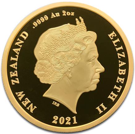 NZ 20 Dollars 2021 Crown above E