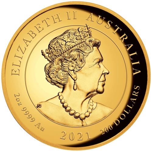AU 200 Dollars 2021 P