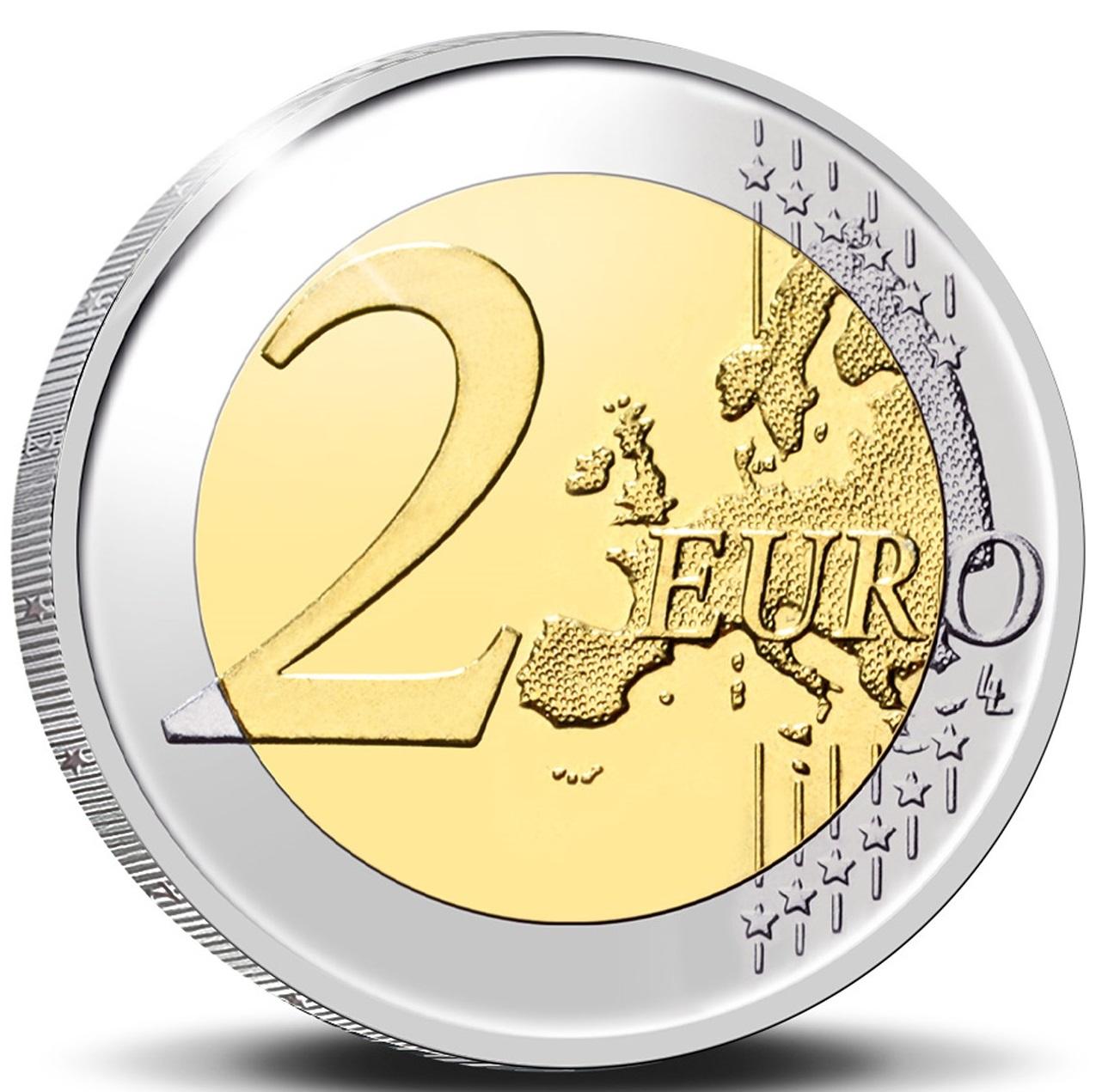 BE 2 Euro 2021 Staff of Mercury