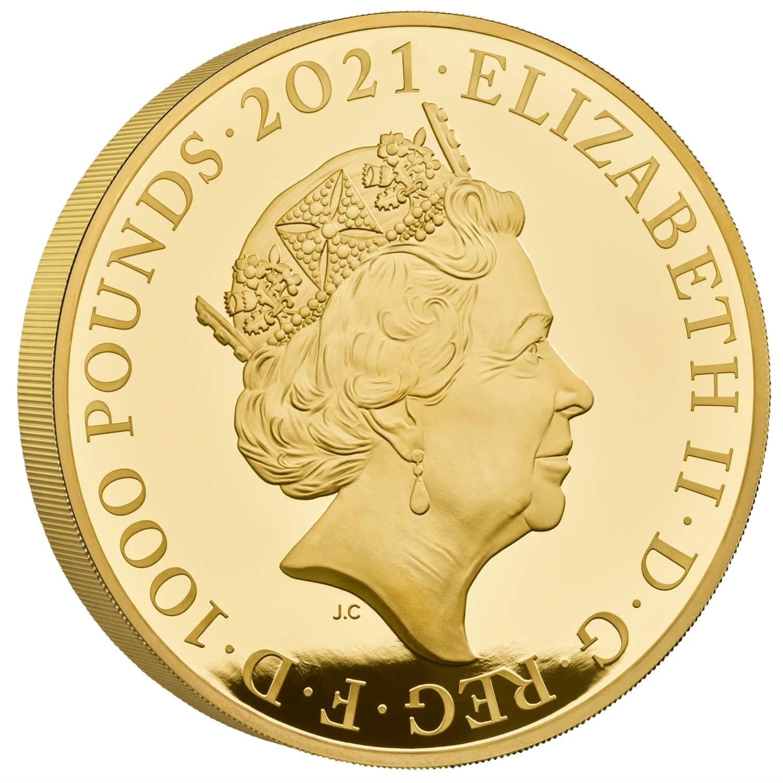 GB 1000 Pounds 2021