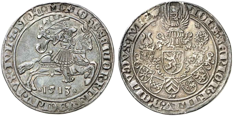 HRR 1 Guldengroschen 1513