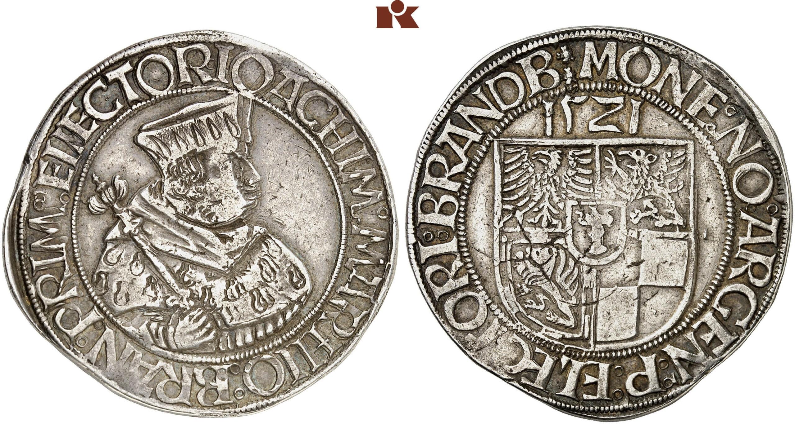 HRR 1 Guldengroschen 1521