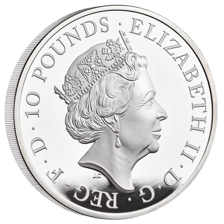 GB 10 Pounds 2022
