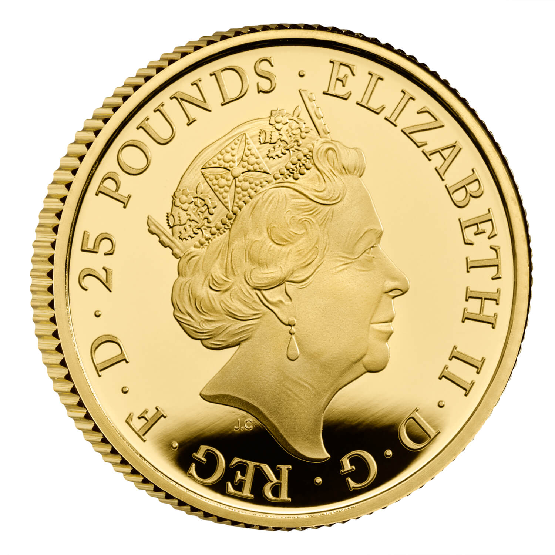 GB 25 Pounds 2022