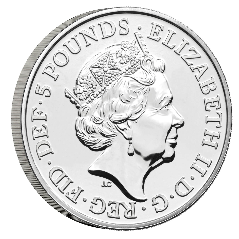 GB 5 Pounds 2022
