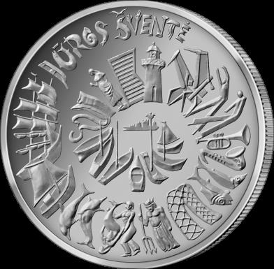 5 Euro 2021 Lithuanian Mint Logo