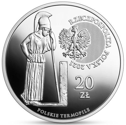 PL 20 Zloty 2021 MW Monogram