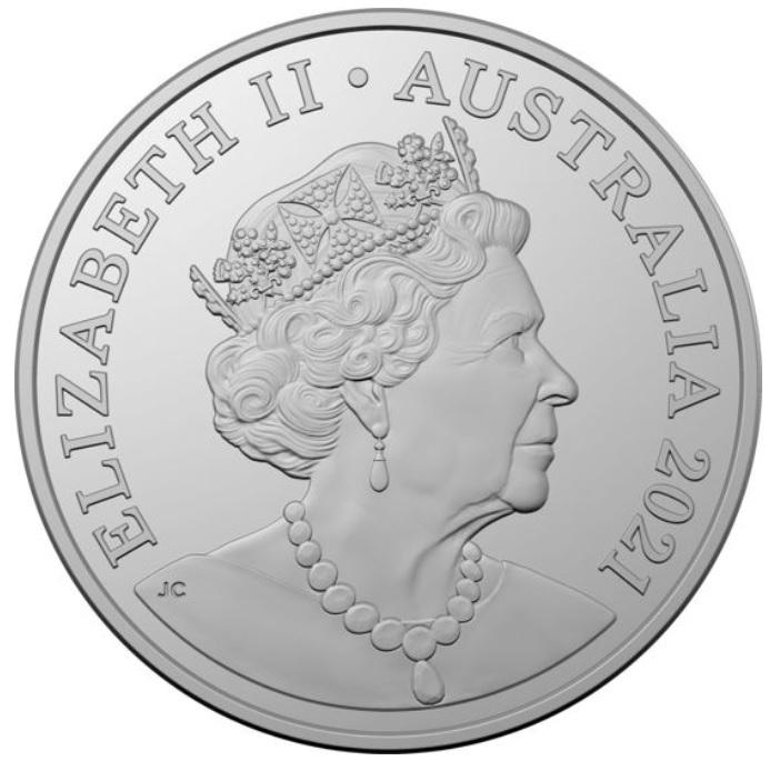 AU 20 Cents 2021