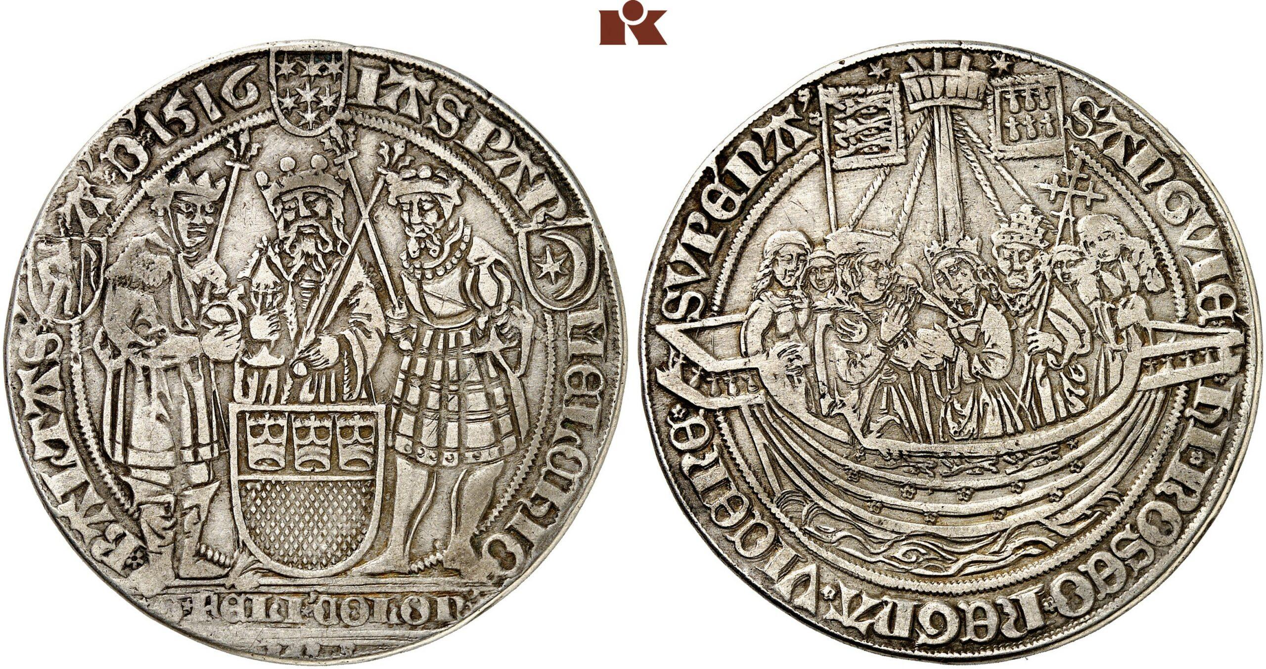 HRR 1 Guldengroschen 1516